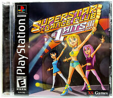 Superstar Dance Club Hits (PS1) Complete - Clean,Tested & Fast Shipping