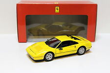 1:18 KYOSHO FERRARI 328 GTB 1988 YELLOW NEW in Premium-MODELCARS