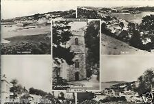St. Mawes Multi-view Castle Rd. Harbour Bay St. Just Church Roseland Old Unpostd