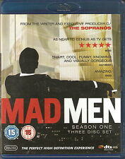 MAD MEN - Series 1. Jon Hamm (3 DISC BLU-RAY SLIM BOX SET 2009)