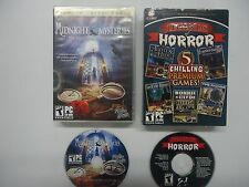 Legends of Horror 5 Game Disc & Midnight Mysteries PC Game