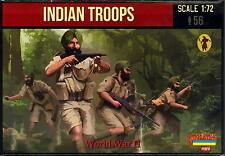 Strelets Models 1/72 WORLD WAR II INDIAN TROOPS Figure Set