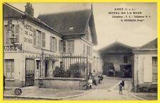 CPA 28 - ANET HÔTEL de la ROSE Maison G. JOURDAIN Grille Chiens Remise Attelage