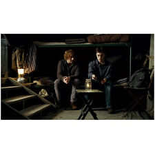 Harry Potter Ron And Harry Sitting On Bed 8 x 10 Inch Photo