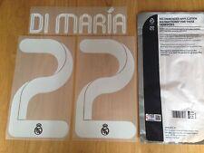 2011-12 Di Maria #22 la Liga/UCL 3RD Camiseta Oficial Sporting Id nombre lejos Kit Set