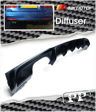 Unpainted Rear PP Diffuser Single for BMW F30 F31 3-Series M Tech M Sport Bumper