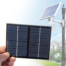 Mini 12V 1.5W Pannelli Solari Piccolo Cella Modulo Caricabatterie per Cellulare