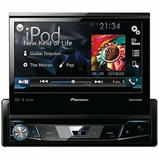 Pioneer AVH-X7700BT Single Din DVD Receiver with 7″ Flip-out Display, Bluetooth