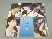 RARE TVXQ DBSK Tohoshinki JYJ Bigeast official fanclub magazine Sep 2008 vol 10