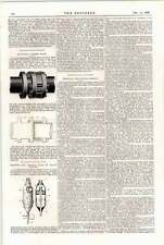 1898 Ashby Marine Boiler Apparatus Coiling Lifelines Chemical Fire Extinguishers