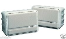 Bose 151 Environmental Outdoor Marine Patio Deck Indoor Speaker Set of 2 - White