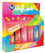 ID Juicy Flavored Lubricant - 12 ml Tube 5 pk Assorted Flavored Lube