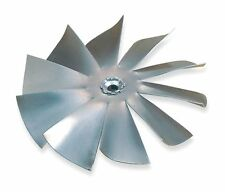 "Fan Blade Aluminum 4"" Diameter 1/4"" Bore 10 Blade"