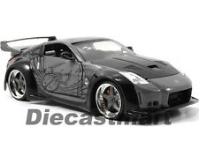 JADA 97172 FAST & FURIOUS DK NISSAN 350Z 1:24 DIECAST MODEL CAR GREY BLACK