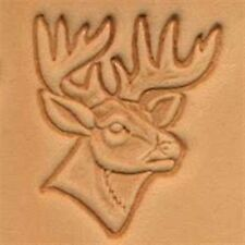 8341 Deer Head Craftool 3-D Stamp Tandy Leather 88341-00