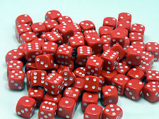 14mm Red Dice - Pack of 20 Dice - D6 RPG
