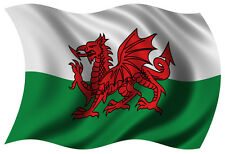 5ft x 3ft Fabric Wales Welsh Red Dragon National Flag - Flags for Sale
