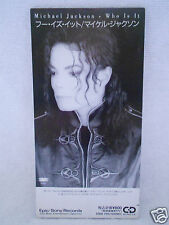 Michael Jackson Who Is It 3' no Promo Japan ESDA 7105 RARE 1991