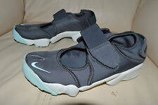 New Nike Womens Air Rift Split Toe Run Running Shoes 315766-060 Sz 6 Gray & Mint
