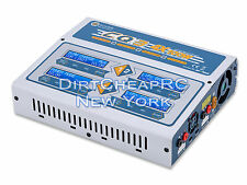 EV-Peak CQ3 QUAD 4 Port 10Amps 400Watts AC/DC LiPo LiHV Battery Charger HRC44167