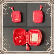 New Mary Kay Red Coin Purse Mini Cosmetic Bag with Mirror ~ Great Gift Idea