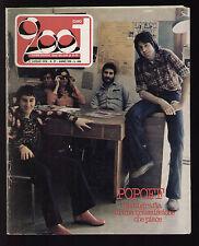 CIAO 2001 27/1976 POPOFF NANNINI LOLLI ROXY MUSIC MARLEY CENTAZZO LATTE E MIELE