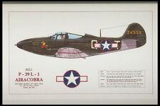 419036 Bell P 39 L 1 Airacobra A4 Photo Print