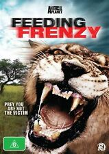Animal Planet's - Feeding Frenzy (DVD, 2010, 2-Disc Set)