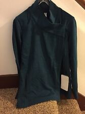 NWT Lululemon Coast Wrap II SZ 8 HALA Heathered Alberta Lake  READ INTL SHIP