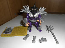Super Shredder completamente + infocard complete 1991 Turtles mirage TMNT Movie Star