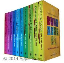True Blood Sookie Stackhouse Vampire Books 10 Book Box Set Charlaine Harris New