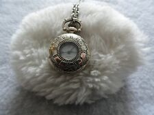 Pretty Ladies Quartz Necklace Pendant Watch