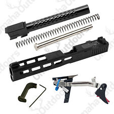ZEV Tech Glock 34 G34 Gen 3 Dragonfly DLC Black Barrel Trigger Build Kit