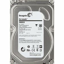 "Seagate 3TB Desktop internal SATA Drive 3.5"" 7200RPM"