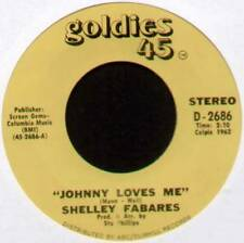 "[BARRY MANN] SHELLEY FABARES ~ JOHNNY LOVES ME / I'M GROWING UP ~ US 7"" RE-ISSUE"