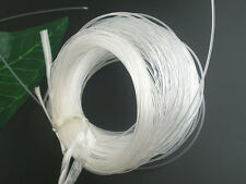 50M Transparent Nylon Beading Thread String Cord Jewelry Findings Craft 1mm Dia.