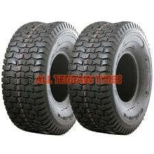 11x400-5 11x4.00-5 Ride On Lawn Mower Tractor Golf Turf  PAIR OF TYRES Free Post