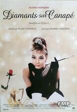 BREAKFAST AT TIFFANY'S - AUDREY HEPBURN / CAPOTE - REISSUE FRENCH MOVIE POSTER