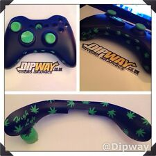 CUSTOM WEED Marijuana Xbox 360 Guide Button And Mic Plate - Bottom Trim Bowtie
