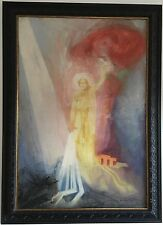 Baron Arild Rosenkrantz Original Oil Painting Hand Signed Dated 1946 Framed