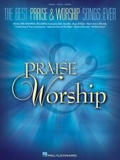 The Best Praise & Worship Songs Ever Sheet Music Piano Vocal Guitar So 000311057