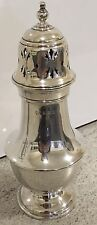 Hallmarked Large Sugar Caster Antique Silver Weighs Over 100g