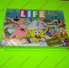 THE GAME OF LIFE Nick SpongeBob SquarePants Edition 2005 Collectors NEW & SEALED