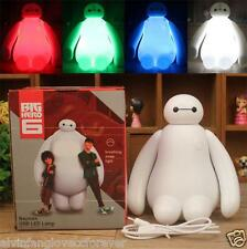 Baymax LED USB Changing Small Night Light colour Big Hero 6 Table Desk Lamp Gift