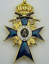 Ordre du mérite militaire Bavarois 2eme classe avec épées  - REPRO de qualité