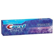 CREST 3D WHITE WHITENING TOOTHPASTE RADIANT MINT FLAVOUR 4.8oz (136g)