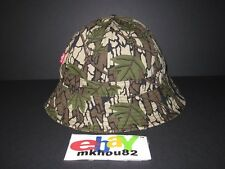 New Supreme Levi's Camouflage Canvas Bell Hat Crusher Bucket Camo cap 2013 S/M