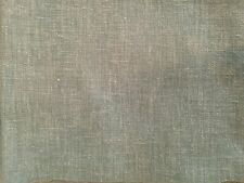 PURE NATURE PEBBLE GREY PLAIN COTTON LINEN MIX SOFT CURTAIN DRESSMAKING FABRIC