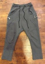 So Cool Grey Cyberdog Low Crotch Tracksuit Bottoms Boys Small Approx 11-12 Years