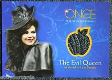 Disney Once Upon a Time M04 M4 SSP Evil Queen Costume Wardrobe Prop Trading Card
